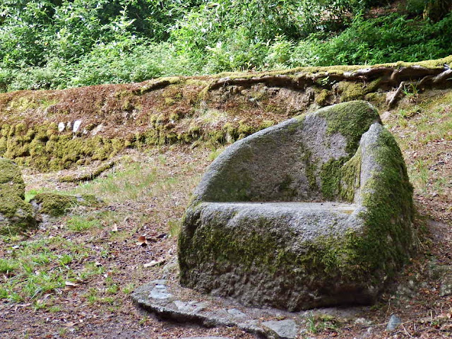 The Druid's Chair at Menacuddle, Cornwall