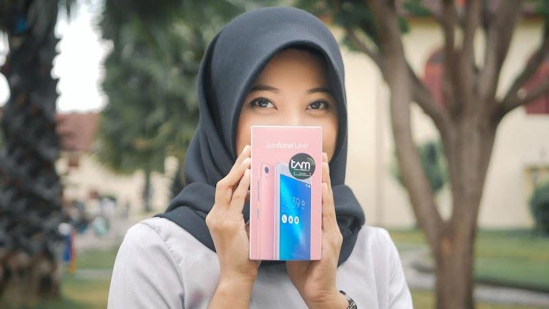 ZenFone Live: Tampil Lebih Cantik & Pede Saat Live! (Unboxing & Foto-foto)