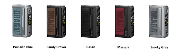 The Drag 3 Mod from VOOPOO looks cool!