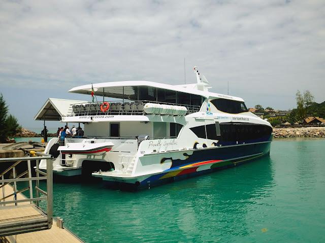 Cómo ir de Mahé a Praslin (Seychelles) en ferry