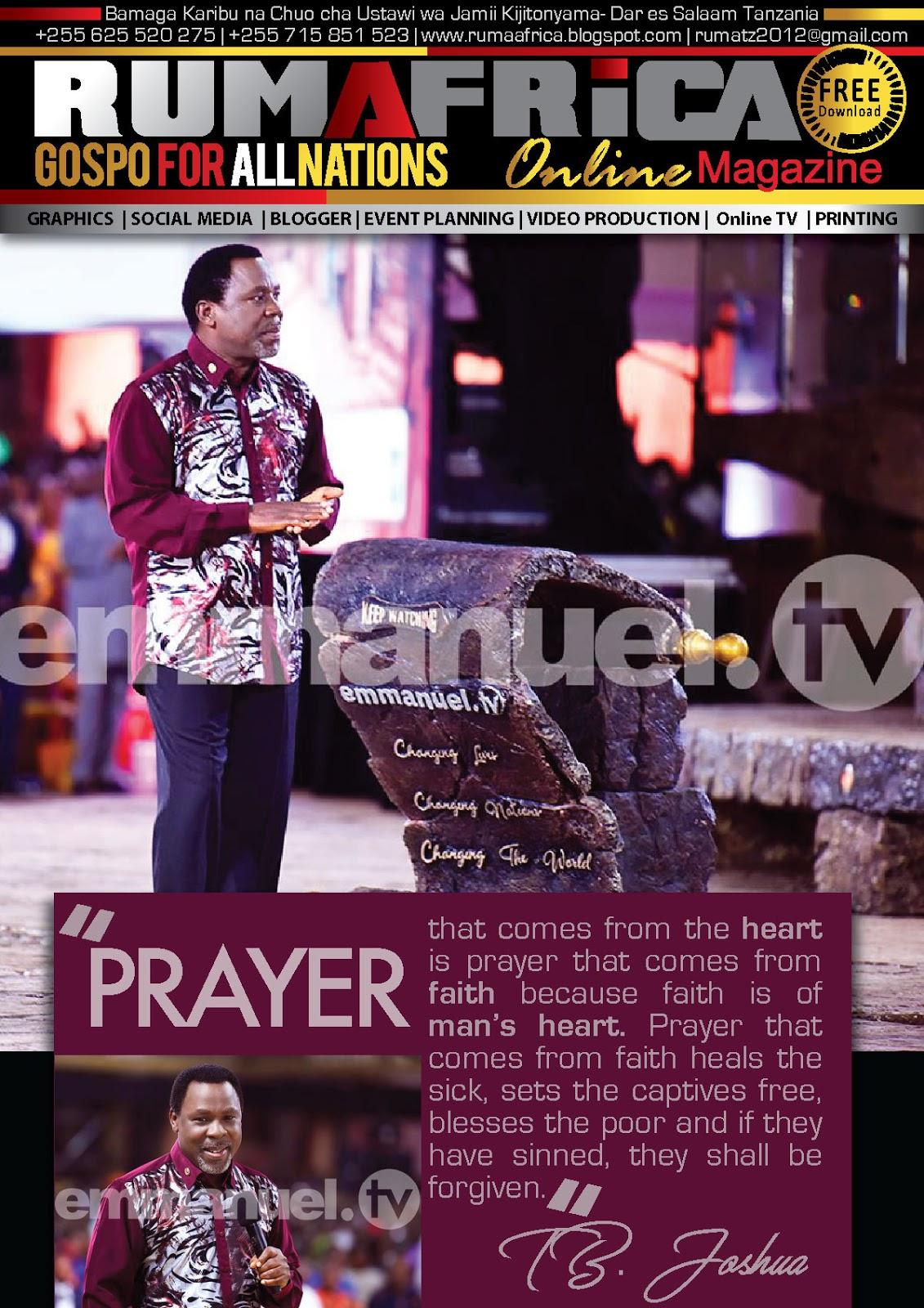 Pray With Tb Joshua
