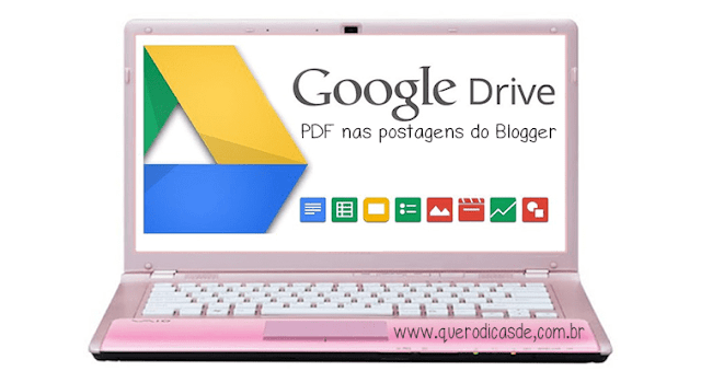 inserir PDF e outros documentos no Blog