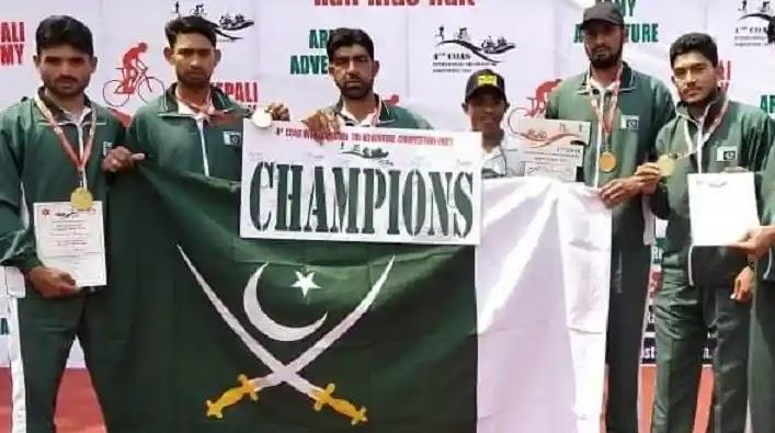 Pakistan Army wins best team award at International Event