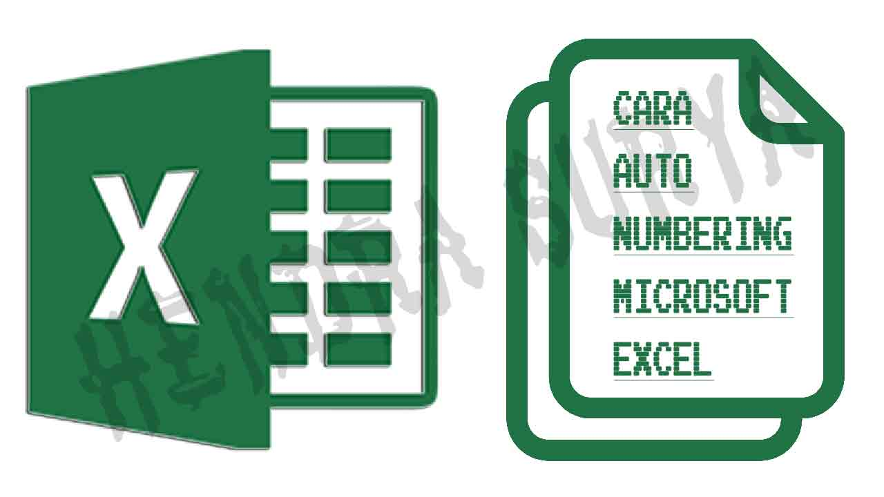Auto Numbering Di Microsoft Excel