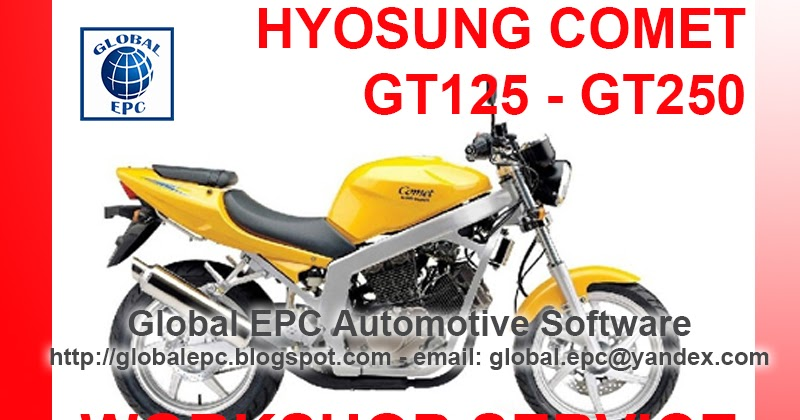 Auto Moto Repair Manuals  Hyosung Comet Gt125 Gt250