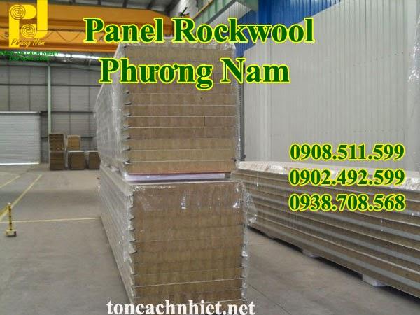 Panel Bông Khoáng Rockwool