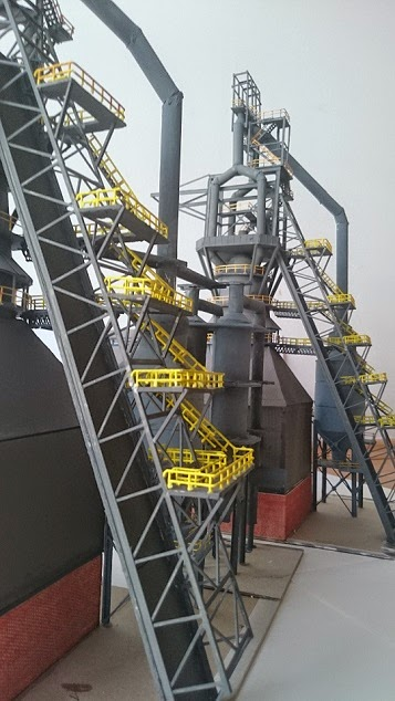 Custom N Scale Steel Mill Model Train Forum The