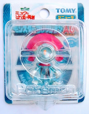 Weavile figure clear version Tomy Monster Collection 2005 movie promo