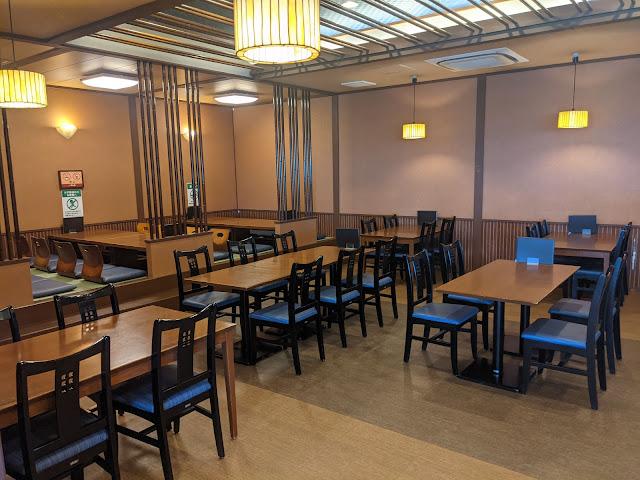 稲佐山温泉ふくの湯フードコートレストラン