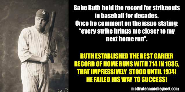 Success Stories From Famous People Who Failed Before Succeeding: Babe Ruth