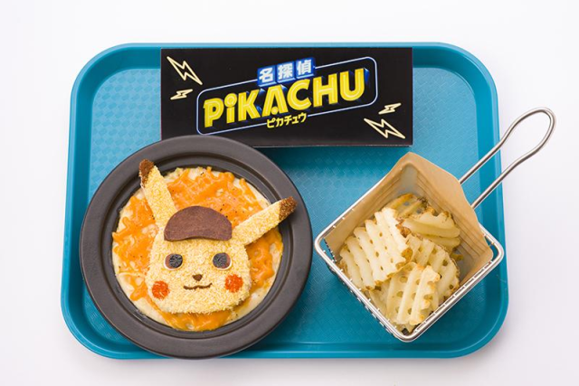 Detektif Pikachu Macaroni and Cheese