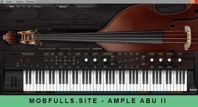 Ample Sound - ABU II v2.6.5 Full Crack