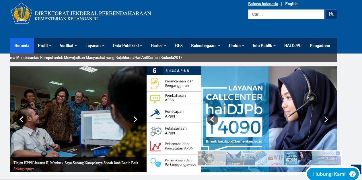 Alamat Lengkap Dan Nomor Telepon Kantor Ditjen Perbendaharaan Seluruh Indonesia