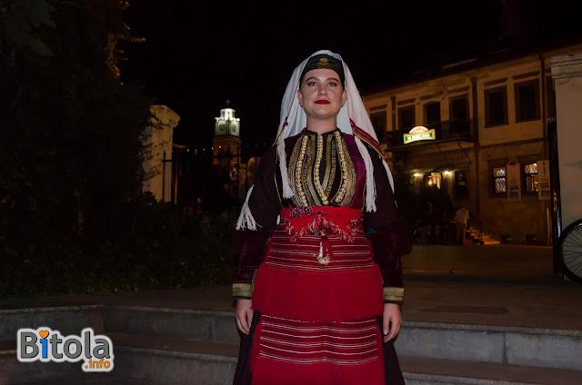 Macedonian national costume - Ethnic area Mala Reka - Miaks - costume for girl