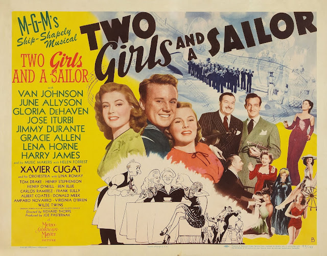 Watch Two Girls and a Sailor (1944) Streaming full film