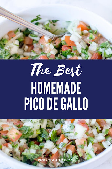 The best homemade Pico de Gallo