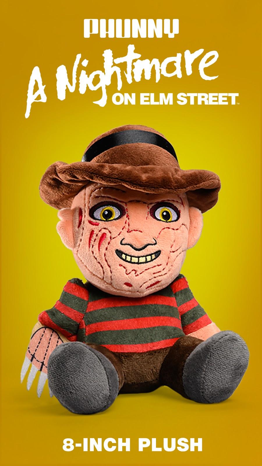 Kidrobot Phunny Freddy Kruger Plush Figure NEW Toys Plushies