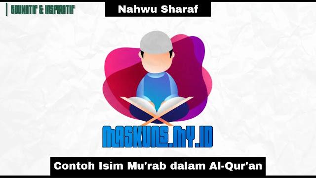 Contoh Isim Mu'rab