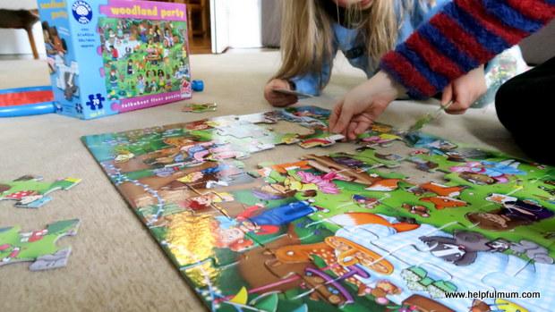 Doing a jigsaw