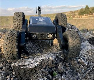 ACROB Atılabilir Mini Keşif-Gözlem Robotu