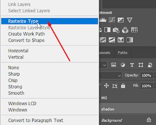 Cara Membuat Gambar Efek Long Shadow di Photoshop