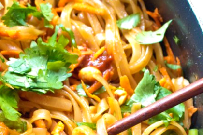 20 MINUTES SWEET AND SPICY NOODLES