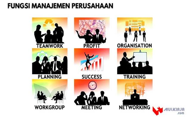 Fungsi Manajemen Perusahaan