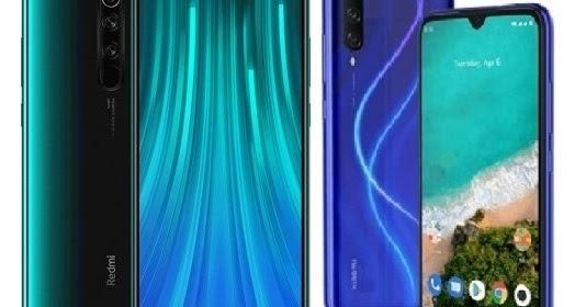Xiaomi Redmi Note 8 Pro Vs Xiaomi Mi A3 Specs Comparison