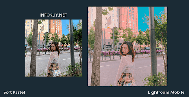 Tutorial Lightroom Soft Pastel