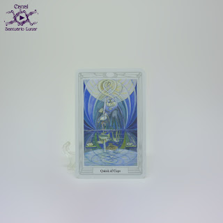 The Thoth Tarot (Sterling Ethos) - Queen of Cups