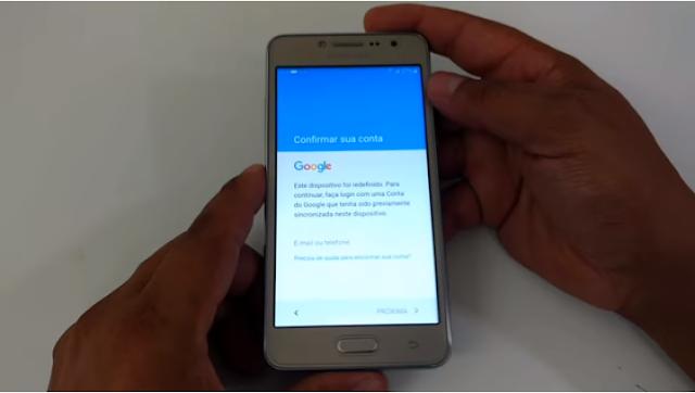 Aprenda como Desbloquear a Conta Google dos aparelhos Samsung Galaxy J2 Prime, Prime TV, SM-G532, G532MT, e outros.
