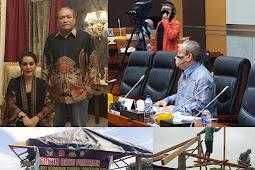 Bersama Warga, HBK PEDULI Bangun Pos Keamanan di Lombok Tengah