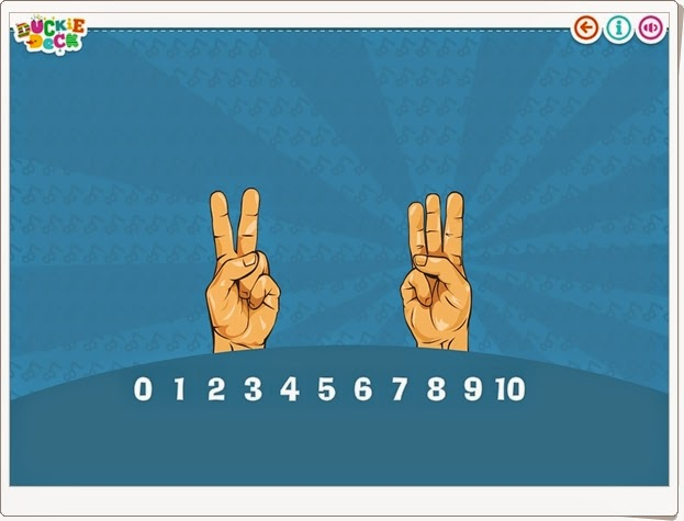 Finger counting Números hasta el 10 para Educación Infantil