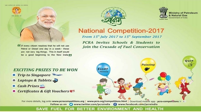 Pcra Painting Essay Writing Quiz Competitions For School Children