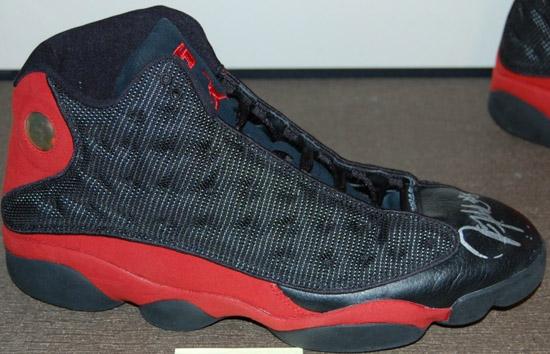 366bce8e515 Air Jordan 13 Retro Black Red Juwan Howard Player Exclusive Available On  eBay