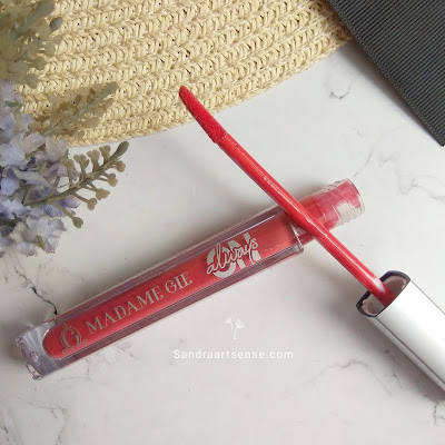 Review Madame Gie lip cream