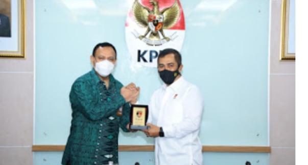 Kabareskrim Polri Silaturahmi ke Pimpinan KPK