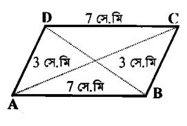 ৮ম শ্রেণীর অ্যাসাইনমেন্ট গণিত সামান্তরিক
