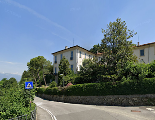 The Villa Agnesi Albertoni at Montevecchia in the province of Lecco, where Maria and her family spent the summer