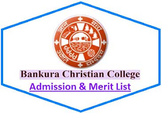 Bankura Christian College Merit List