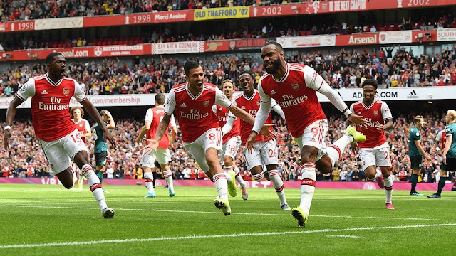 Arsenal 2-1 Burnley: Ceballos Shines, Auba Strikes Again