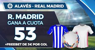Paston Megacuota Alaves vs Real Madrid