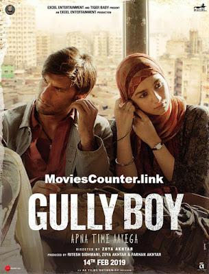 Poster Gully Boy 2019 Hindi HD 720p
