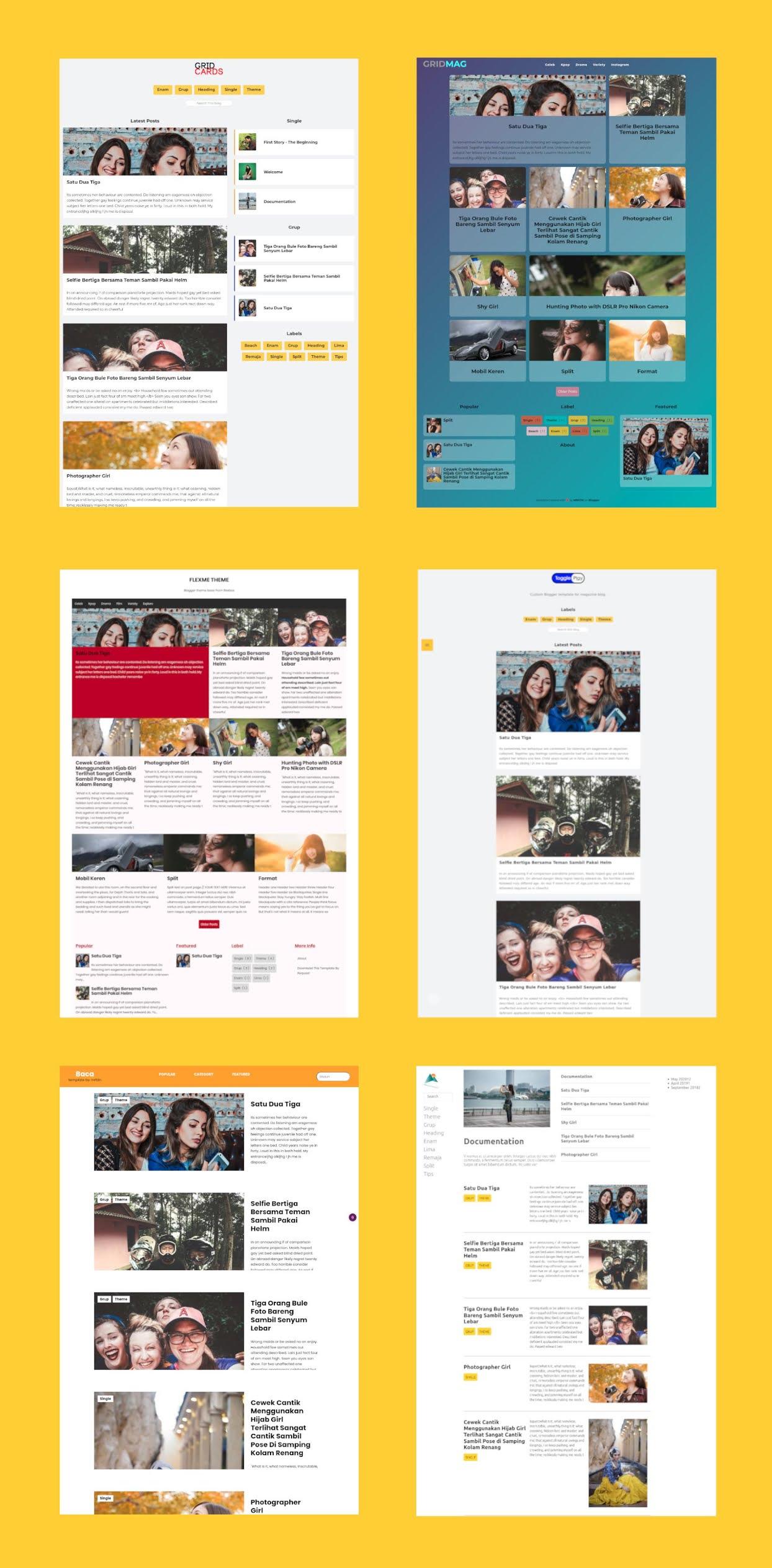 template blogger terbaik by mrfdn, best blogger template layout