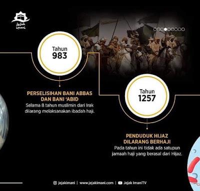 Dalam Sejarah, Haji Pernah Ditutup Sebanyak 40 Kali. Tengok Apa Sebabnya