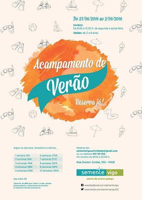 Campamento de Verano en Vigo - SEMENTE