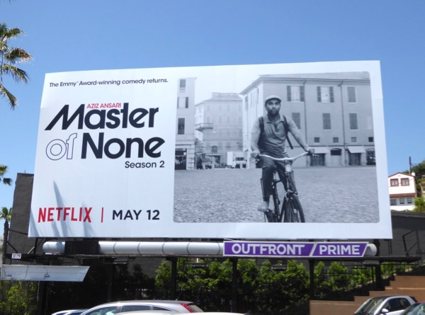 Master of None season 2 billboard