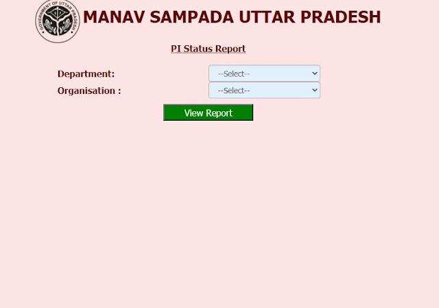 PI Status Report Check