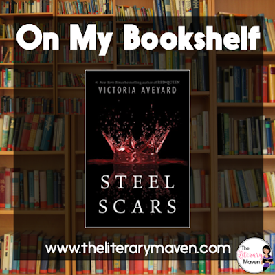 Steel Scars by Victoria Averyard is a novella in the Red Queen series, which focuses on Farley, a leader in the Scarlet Guard and allows you to see the start of her relationship with Shade, Mare's brother, Shade's reaction to the reveal of Mare's powers at Queenestrial, and gives you more insight into Farley's character. Read on for more of my review and ideas for classroom application.