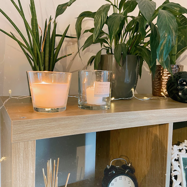 Slow Living Home With Plants and Ikea Kallax Storage